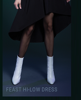 Feast Hi-Low Dress
