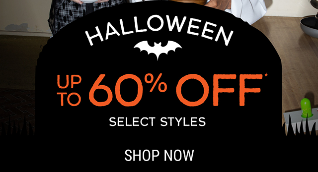 Halloween Up to 60% Off