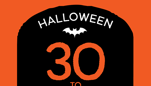 Halloween 30 to 60% Off