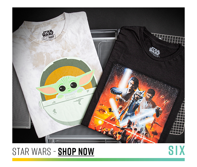 Six: Star Wars. Shop Now