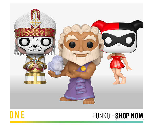 One: Funko. Shop Now