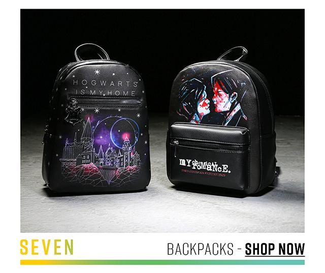 Seven: Backpacks. Shop Now