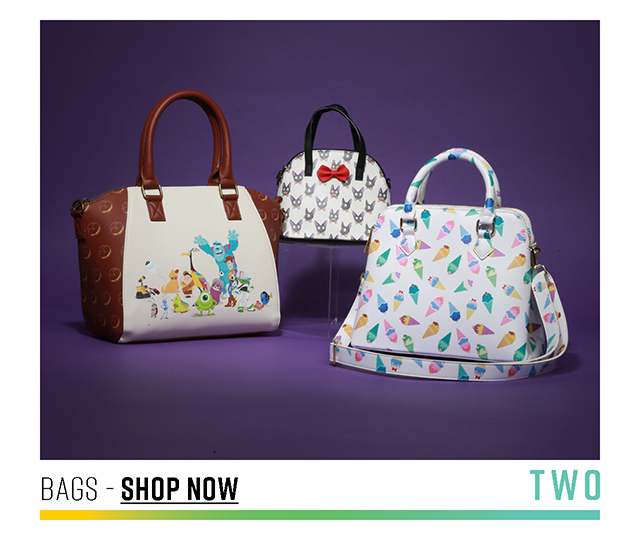 Two: Bags. Shop Now