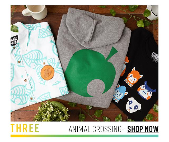 Three: Animal Crossing. Shop Now