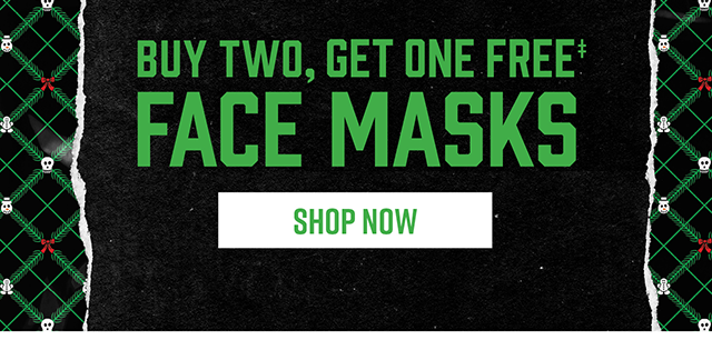 Buy Two, Get One Free Face Masks. Shop Now